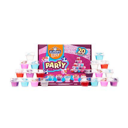 premade slime party pack