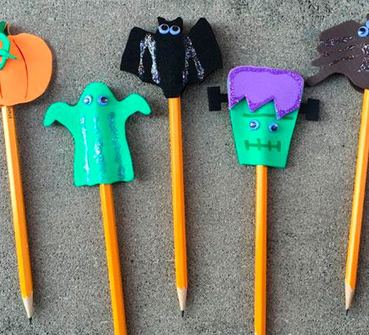 Pencil toppers project